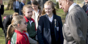 The Duke opens new Archery Centre
